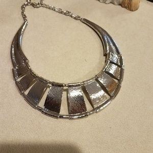 Chico's silver collar